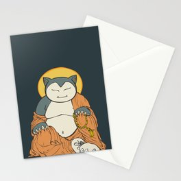 Hotei Snorlax Stationery Cards
