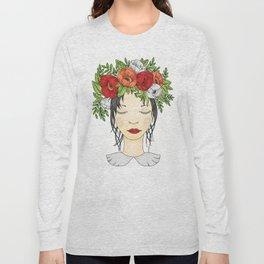 Flowers Queen - Poppies Long Sleeve T-shirt