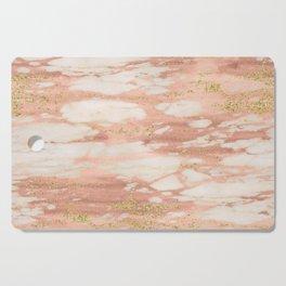 Sorano rose gold marble Cutting Board