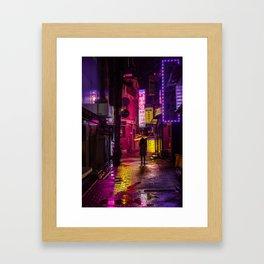 Yellow Umbrella Framed Art Print