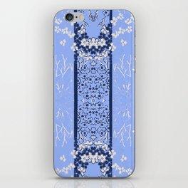Shade of  Blues By Danae Anastasiou iPhone Skin