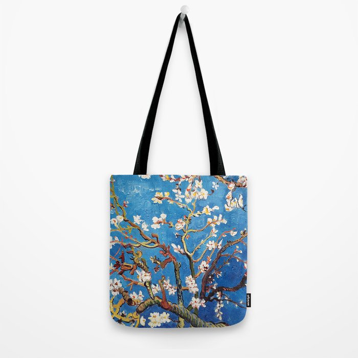 Van Gogh Branches of an Almond Tree in Blossom Tote Bag