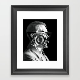Hitler Being Punished for Obvious Reasons Framed Art Print
