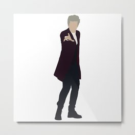 Twelfth Doctor: Peter Capaldi Metal Print