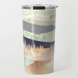 Golden Spring Reflection Travel Mug