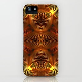 Golden Thread iPhone Case