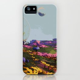 Goodmorning Lemuria iPhone Case