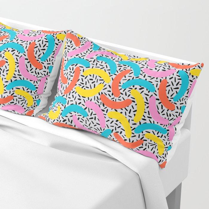 I Love Memphis Patterns Pillow Sham