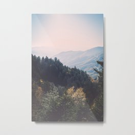 Smoky Mountains National Park Metal Print