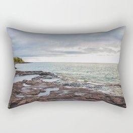 Artist Point Trail, Grand Marais, Minnesota 20 Rectangular Pillow