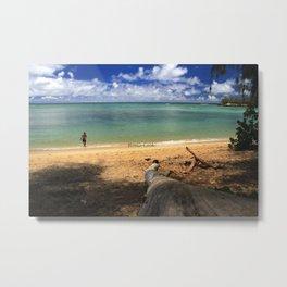 Kawela Bay Metal Print