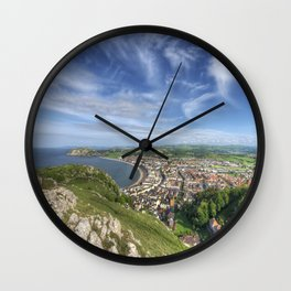 Great Orme View Wall Clock