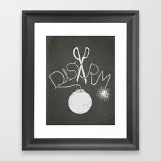 Disarm  Framed Art Print