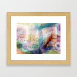 Coconut Creme Brule Framed Art Print