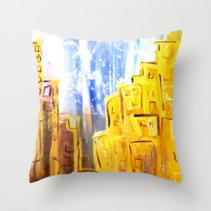 g o l d e n t h y m e s Throw Pillow