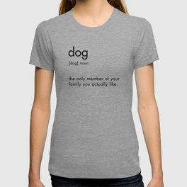 Dog Definition Sign T-shirt