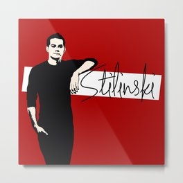 Team Human: Stilinski  Metal Print