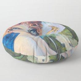 The Masquerade, Lucia Floor Pillow