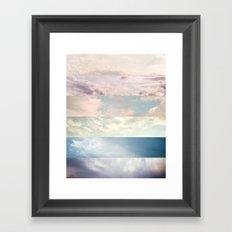 Cloud Study Framed Art Print