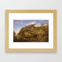 A View of the Catskill Mountain House,  Sarah Cole (1805–1857)' Framed Art Print