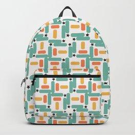Starry little rectangles Backpack
