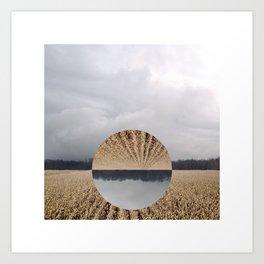 Midwest Autumn Horizon - Flip Art Print