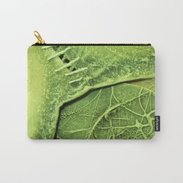 Lime Green . Art of Nature Carry-All Pouch