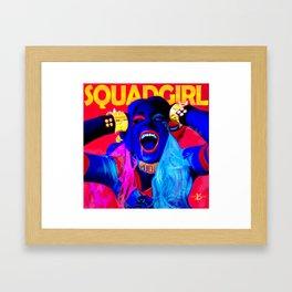 XSuperModels x Cheryl - SquadGirl Framed Art Print