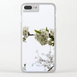 the season has arrived Clear iPhone Case