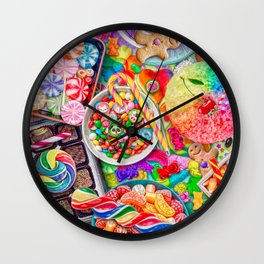 Candylicious Wall Clock