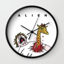 Alien Jirafa Wall Clock