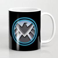 shield Mugs featuring Shield by livinginamovie