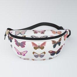 Pink Butterflies Fanny Pack