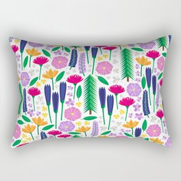 Mt. Rainier's Wildflowers Rectangular Pillow