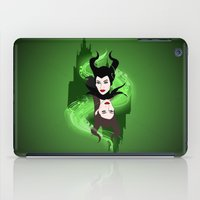 maleficent iPad Cases featuring Maleficent by Pendientera