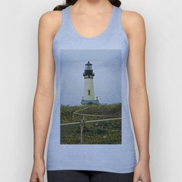 Yaquina Head Lighthouse Unisex Tank Top