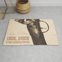 Lock, Stock and Two Smoking Barrels, Guy Ritchie, british film, Jason Statham, Vinnie Jones Rug