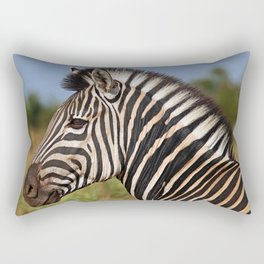 Zebra - Africa wildlife Rectangular Pillow