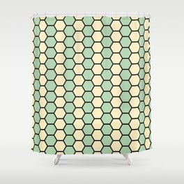 Polygon Shower Curtain