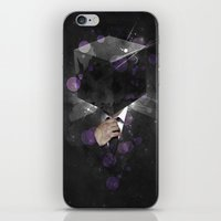 paramore iPhone & iPod Skins featuring Cube Head by Sitchko Igor