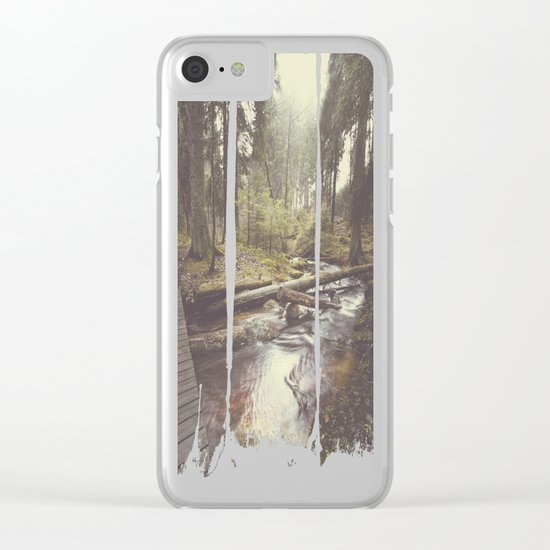The paths we wander IV Clear iPhone Case
