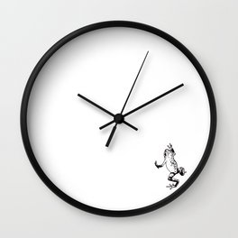 Poison Dart Frog Wall Clock