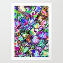 unusual abstract art design background by digitalposter