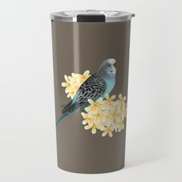 Blue Budgerigar Travel Mug