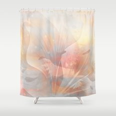 Floral Astract Shower Curtain