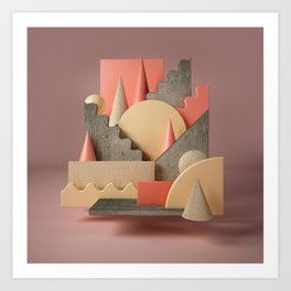 Butterscotch Art Print