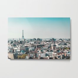 I <3 parisian rooftops. Metal Print