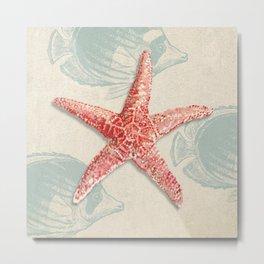 Ted Broome - Ocean Gift I Metal Print