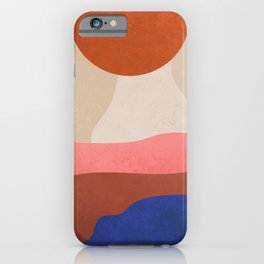 Find Me Where The Sunset #art print#illustration iPhone Case
