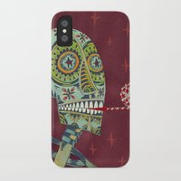 happy birthday iPhone & iPod Cases featuring Happy Birthday by Santiago Uceda